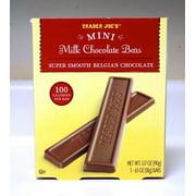 Mini Milk Chocolate Bars by TJ 100 Calories Per Bar