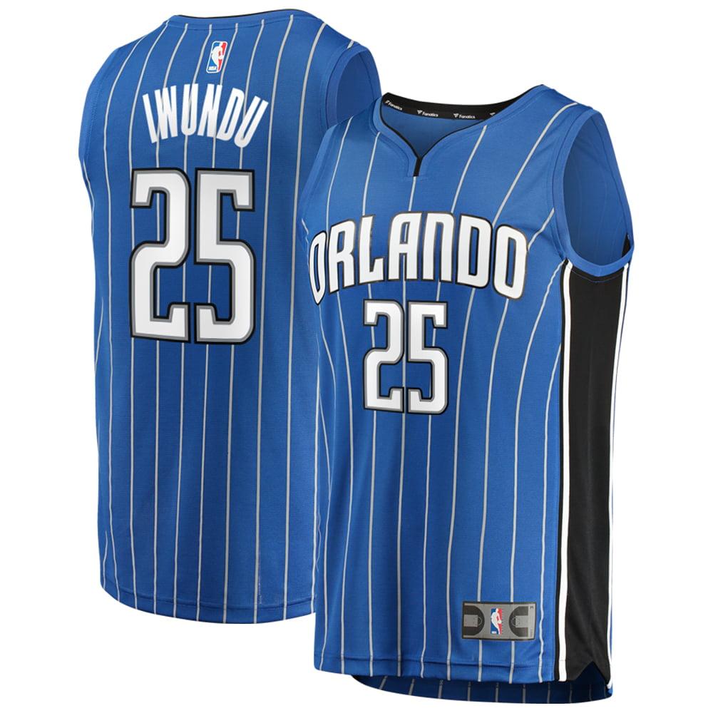 Orlando Magic Wesley Iwundu Fanatics Branded Youth Fast Break Player Jersey - Icon Edition - Blue