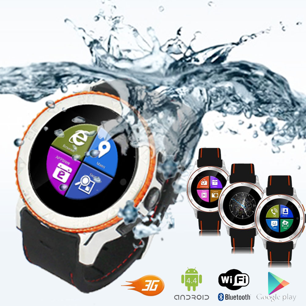 inDigi Waterproof Unlocked 2-in-1 S7 SmartWatch & Phone -...