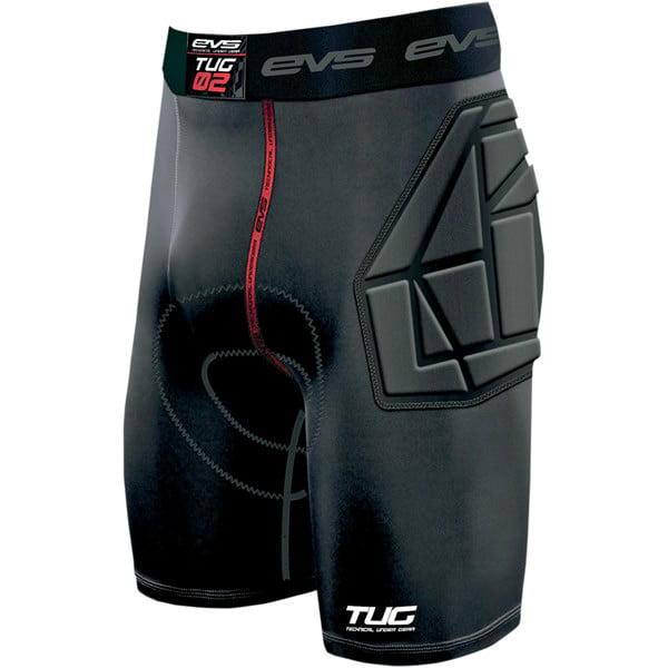 EVS Tug Padded Riding Shorts Black