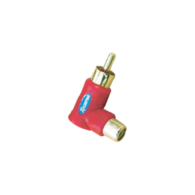 Xscorpion RASR Rca Right Angle Adaptor Red 10 Pieces;