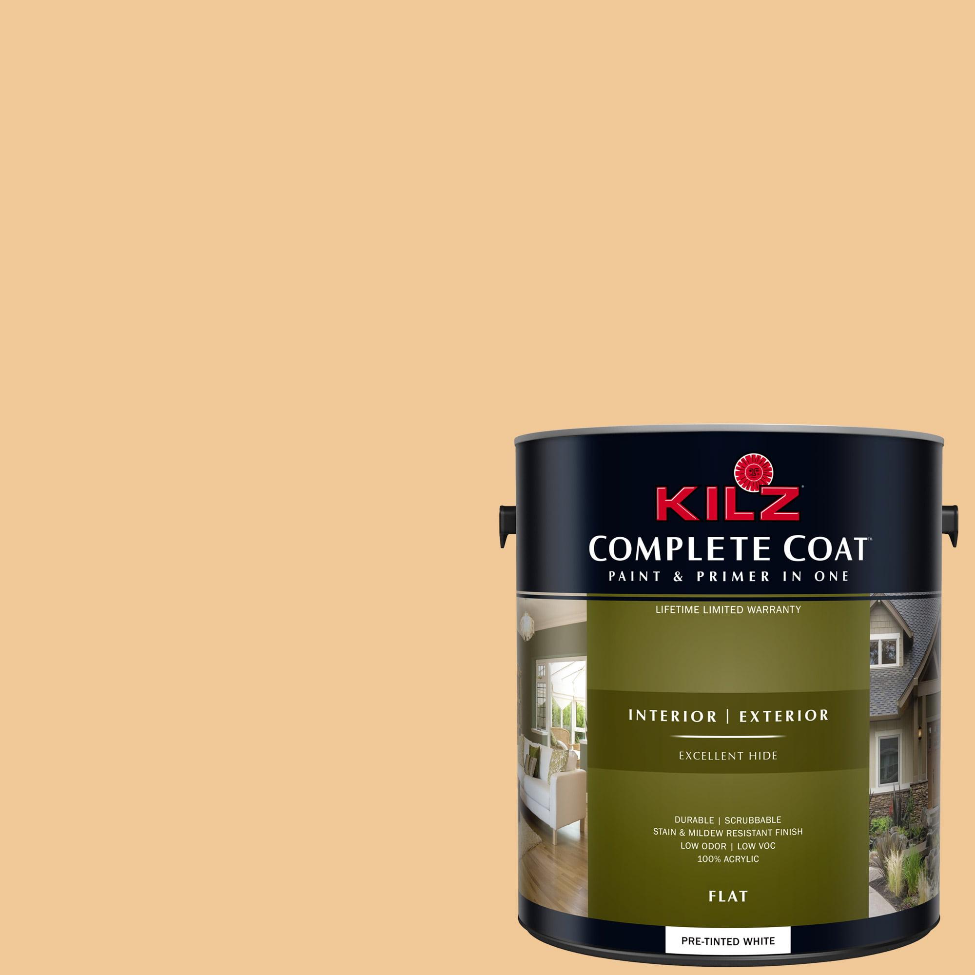 KILZ COMPLETE COAT Interior/Exterior Paint & Primer in One #LD180-02 Citrus Spice
