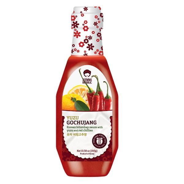 Image of Ajumma Republic Yuzu Gochujang Sauce, 10.58 oz