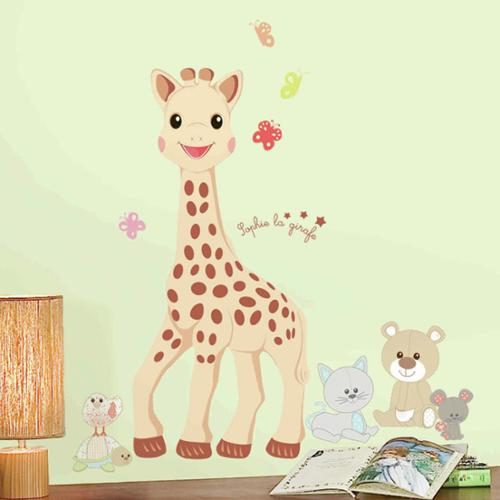 RoomMates Sophie La Giraffe Giant Wall Decals