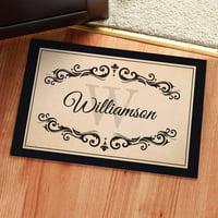 Personalized Doormat - Filigree