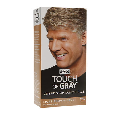 Just For Men Touch Of Gray Haircolor Light Brown T 25 1 0