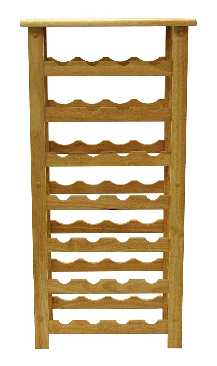 Wood 28 Bottle Wine Rack, Fast Shipping,Brand Winsome