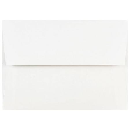 Paper Window Envelope (JAM Paper A7 Invitation Envelopes, 5 1/4 x 7 1/4, White, 100/Pack )