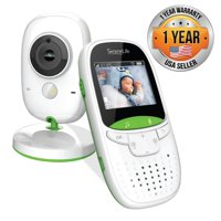 SereneLife SLBCAM10 - Wireless Baby Monitor System - Camera & Video Child Home Monitoring