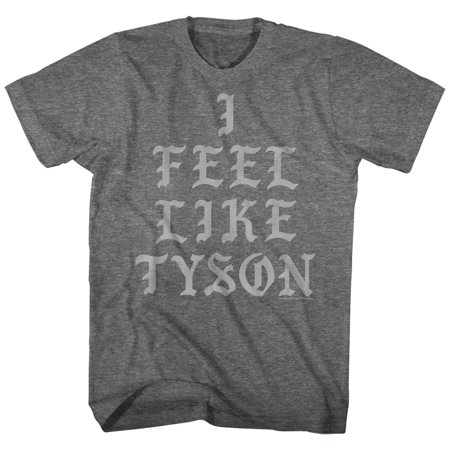 Mike Tyson I Feel Like American Classics Boxer Fighter Champion Adult T Shirt
