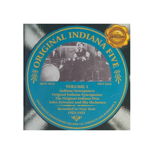 Additional personnel includes: The Indiana Syncopaters, John Sylvester.<BR>Recorded in New York, New York in 1928 and 1929.