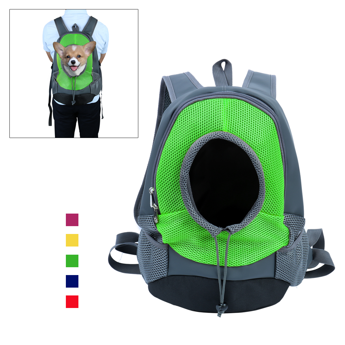 Portable Small Dog Cat Pet Carrier Bag Outdoor Travel Shoulder Tote Backpack