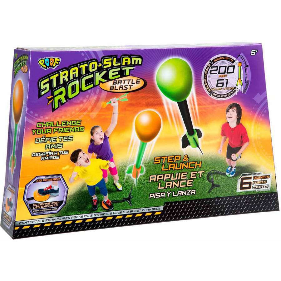 POOF Strato Slam Rocket Battle Blast by POOF-Slinky, Inc.