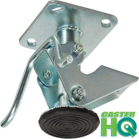 Adjustable Height Floor Lock (Caster HQ - 5 Inch Floor Lock - FL50117 - 4