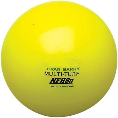CranBarry Hollow Multi-Turf NFHS Field Hockey Ball, Gold