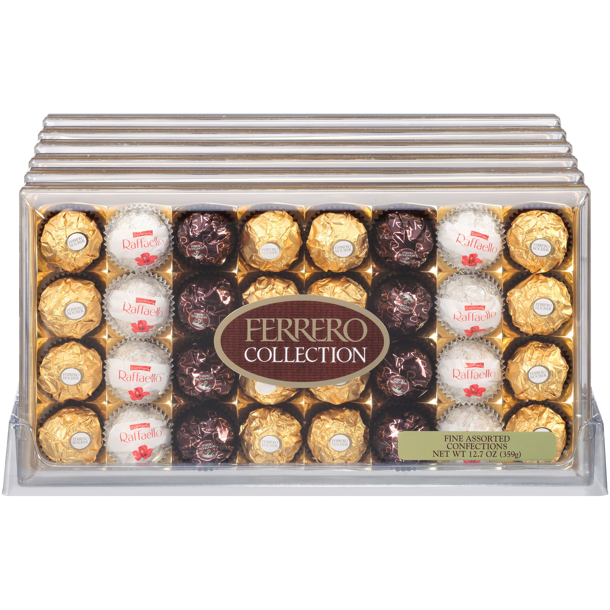 Ferrero Rocher Collection Assorted Confections 127 Oz 32 Count