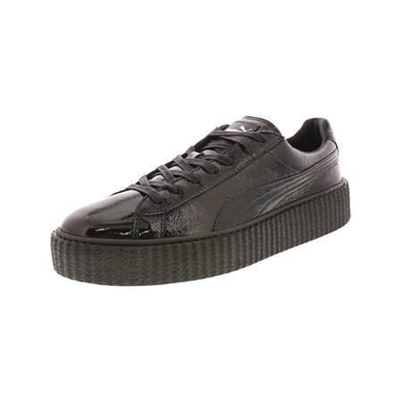 outlet store 7e8d7 24a1f Puma Men's Creeper Cracked Leather Platform Sneaker - 11M - Puma Black /  Puma Black / Puma Black