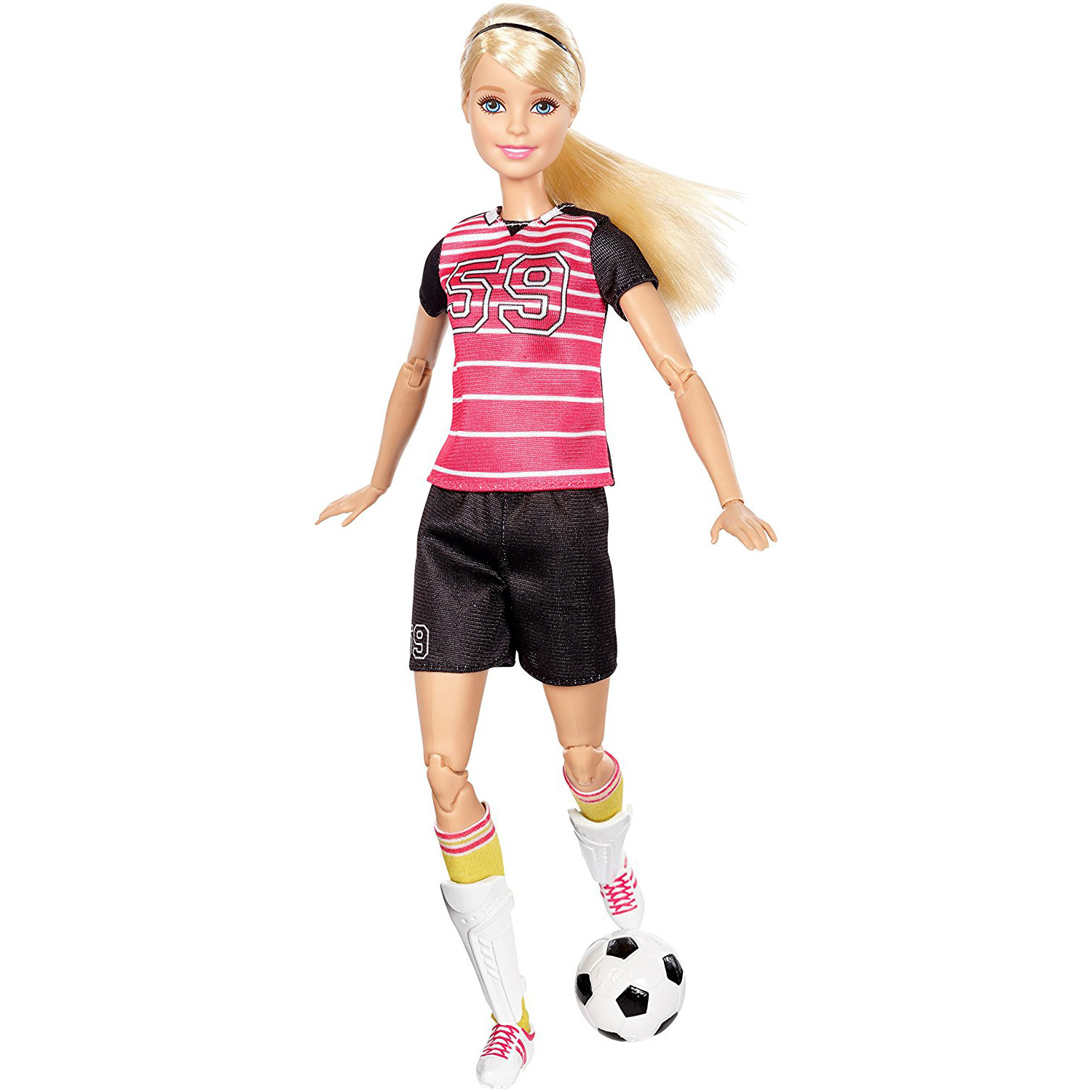 Barbie Made To Move Soccer Player Doll by MATTEL INC.