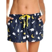 Angelina Women's Cozy FLEECE Pajama Shorts (1-Pack)