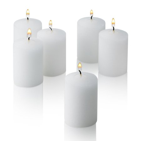 D'light Online 15 Hour Unscented White Emergency Bulk Votive Candles set of 36