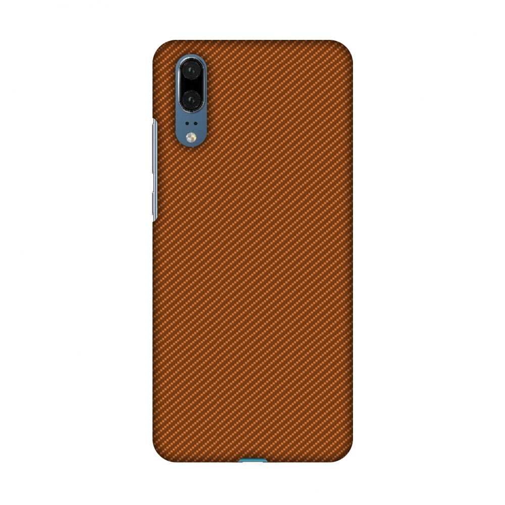Huawei P20 Case - Autumn Maple Texture, Hard Plastic Back Cover, Slim Profile Cute Printed Designer Snap on Case with Screen Cleaning Kit
