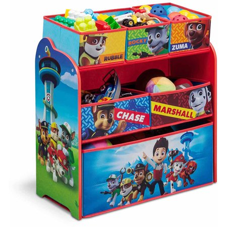 Nick Jr. PAW Patrol Multi-Bin Toy Organizer by Delta Children