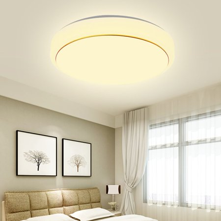 12 18 24w Modern Round Led Ceiling Light Warm White