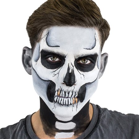 SKELETON BOXED MAKEUP KIT (Easy Skeleton Make Up)