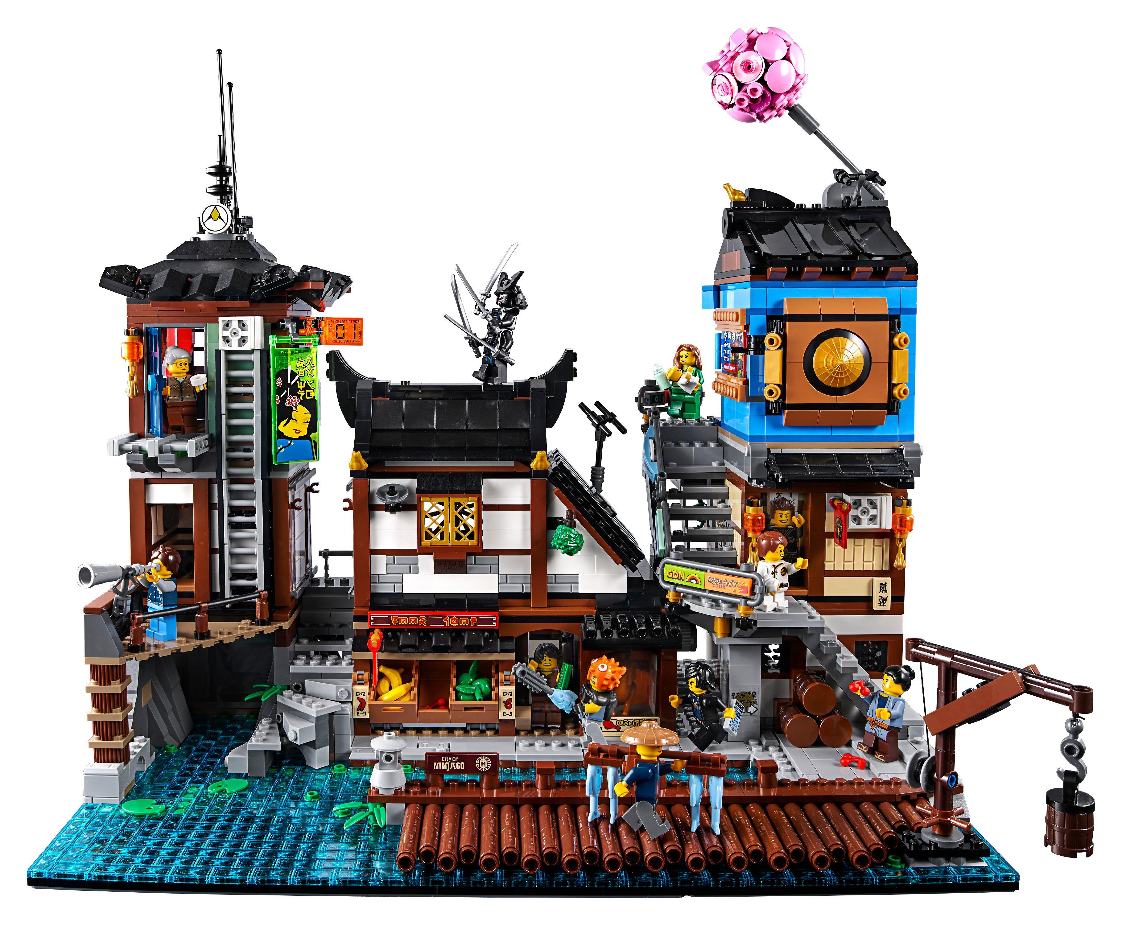 Lego Ninjago Movie City Docks 70657 3553 Pieces Walmartcom