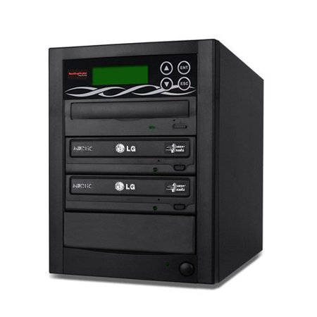 Bestduplicator BD-LG-2T 2 Target 24x SATA DVD Duplicator with Built-In LG Burner (1 to