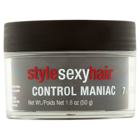 Custom Control Gel Wax (Style Sexy Hair Control Maniac Styling Hair Wax, 1.8 oz)