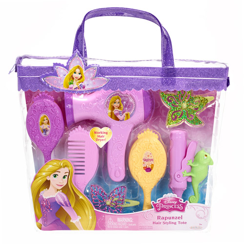 Disney Princess Rapunzel Hair Styling Tote