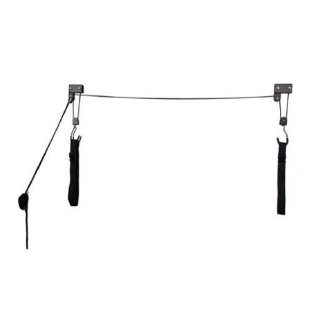 Kayak & Canoe Lift Hoist Kayak For Garage / Canoe Hoists 125 lb Capacity Lifetime Warranty by RAD Sportz