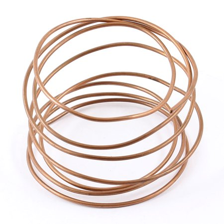 4.9Ft Copper Refrigeration Tubing Coil for Air Conditioner ()