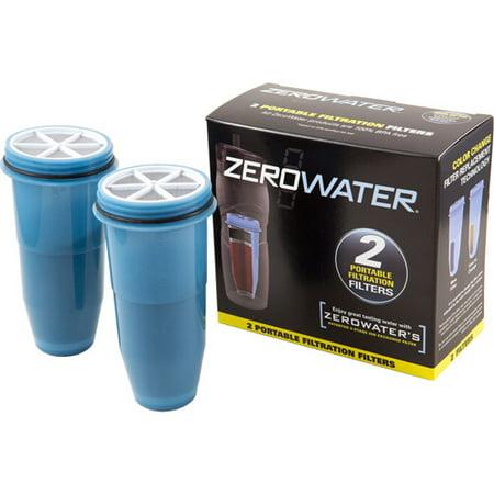 Zerowater Portable Tumbler Travel Bottle Replacement