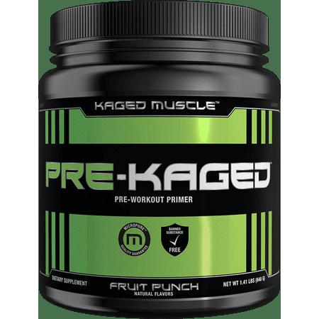 Kaged Muscle Pré-Kaged - 20 Portions Punch aux fruits (pré-entraînement)