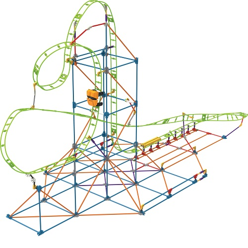 KNEX LIMITED PARTNERSHIP GROUP 15407 Roll Coaster Knex Set by Knex Limited Partnership Group