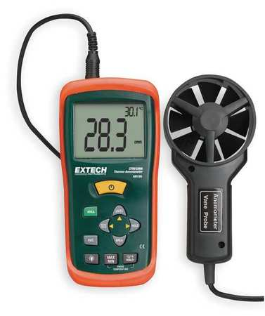 Anemometer,80 to 5906 fpm by Extech