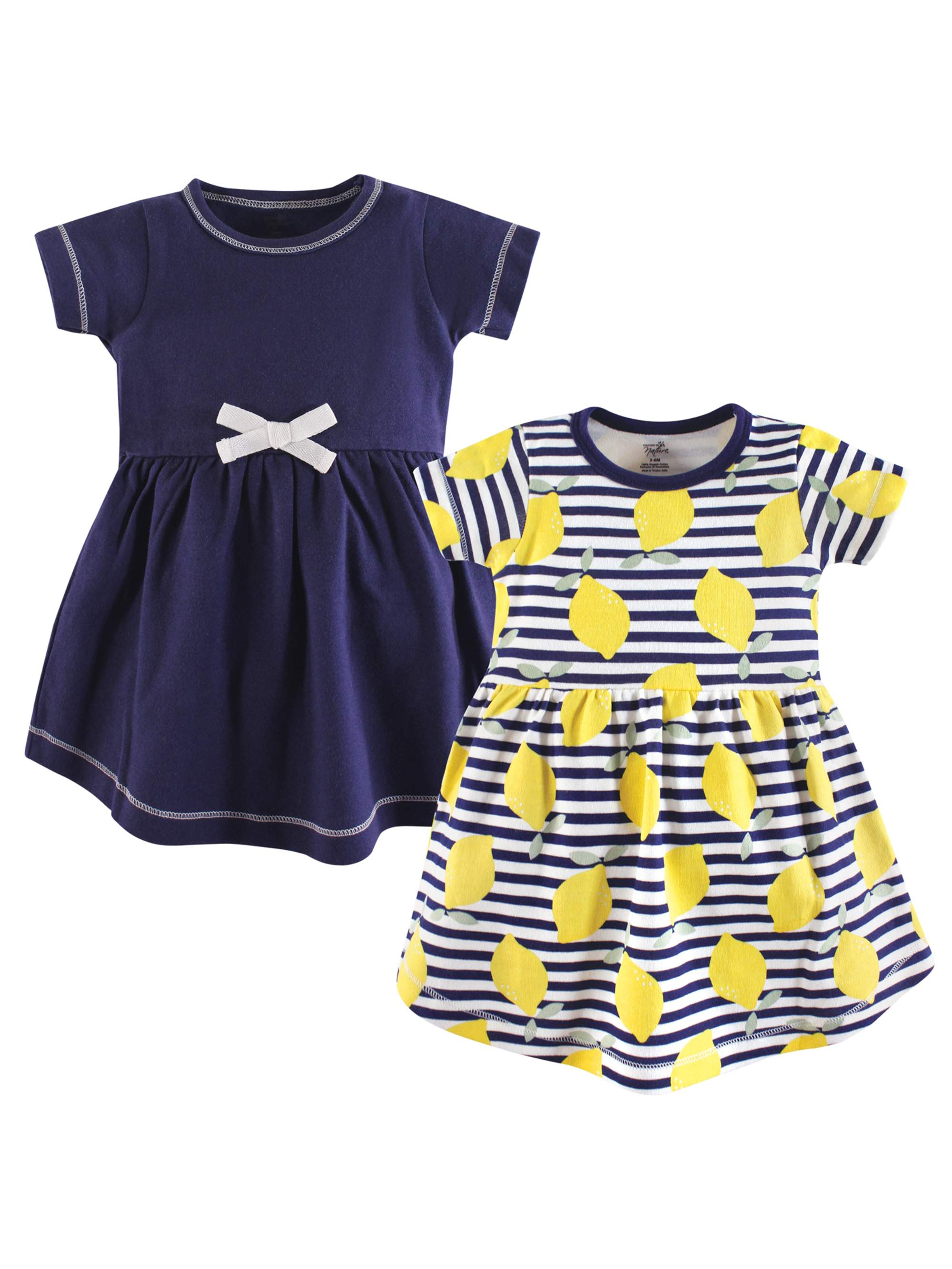 Toddler Organic Dress 2pk (Baby Girls)
