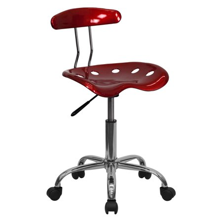 - Computer Task Chair with Tractor Seat, Multiple Colors