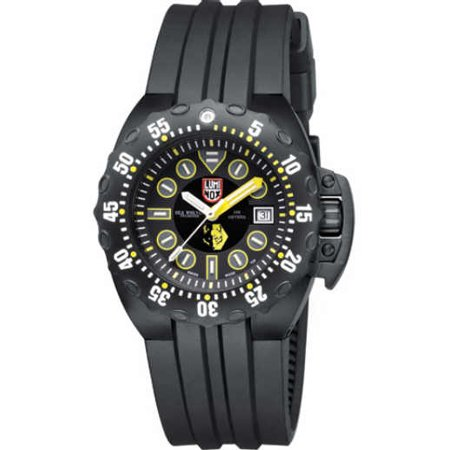 LUMINOX Sea Deep Dive Automatic 1500 Series, Black Strap, Round Black Dial, Men's Watch A.1526