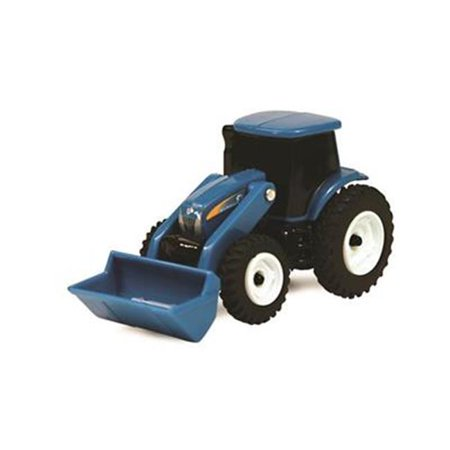 Tomy International 7446933 New Holland Tractor with Loader - Blue