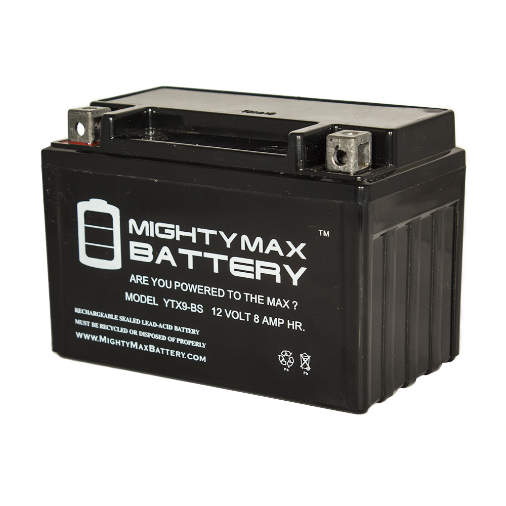 YTX9-BS Replacement for 1993 Kawasaki KZ750L Ninja Motorcycle Battery
