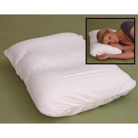 Deluxe Comfort Microbead Pillow - Most Comfortable Air Micro Bead Cloud Pillows - Squishy, Yet Firm, Neck Support