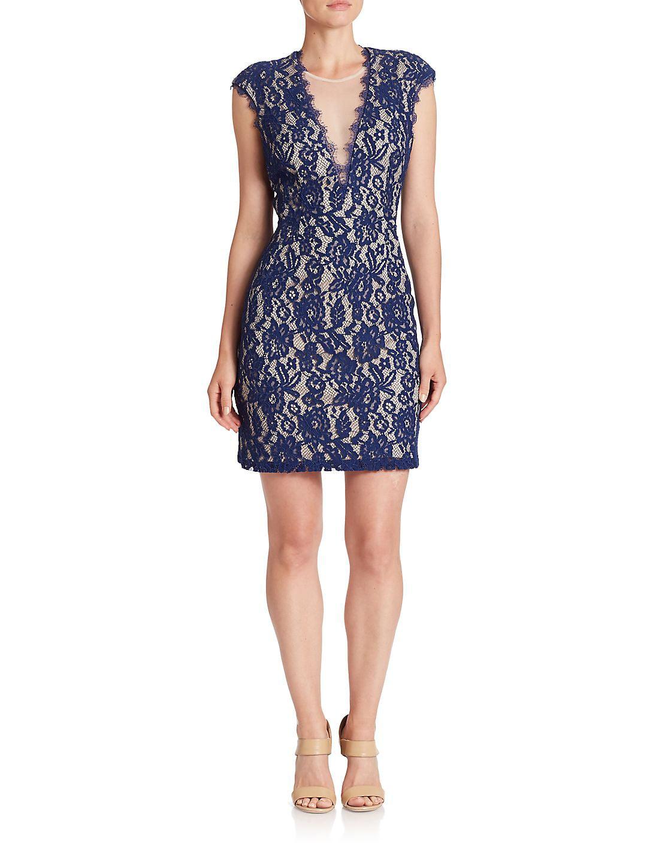 Back Cutout Lace Dress