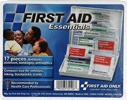 First Aid Essentials 17 Piece First Aid Kit by ACME UNITED CORPORATION