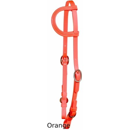 (Horse Tack Western Beta Biothane Made In USA Thoroughbred One Ear Bridle 975BE152)