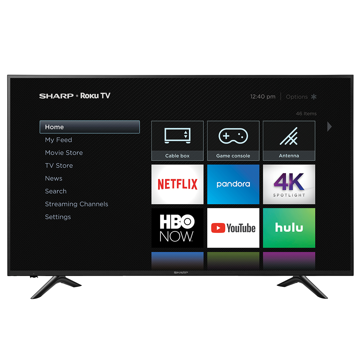 "Sharp 65"" Class 4K Ultra HD (2160P) Roku Smart LED TV (65Q7300U)"