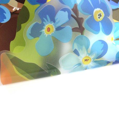 Chambre auto adh sif pvc motif fleur papillon autocollant for Autocollant mural walmart