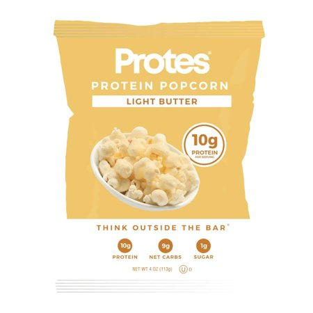 - Protes 10g Protein Popcorn - Light Butter Size: 7-Pack